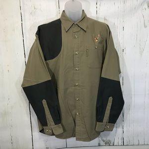 Columbia Briarshun Buck Shooting Shirt Button Up L